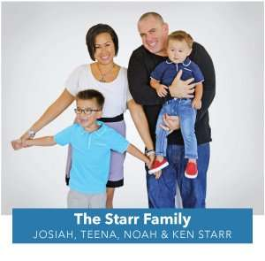 Ken Starr of Home Comfort USA and family