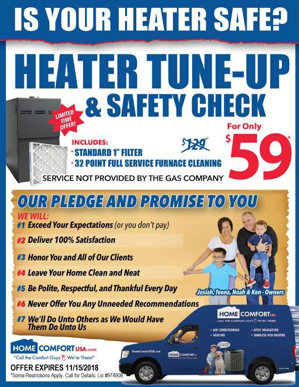 Heater Tune-Up and Repair