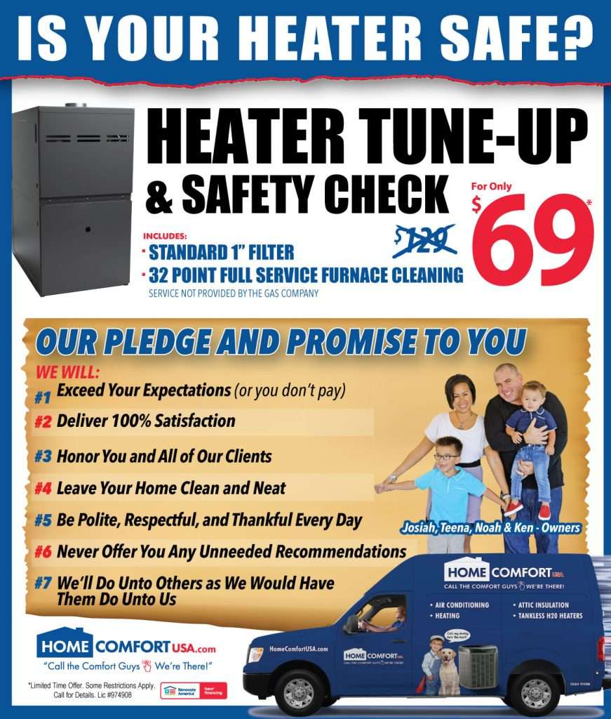 Heater Tune Up Coupon