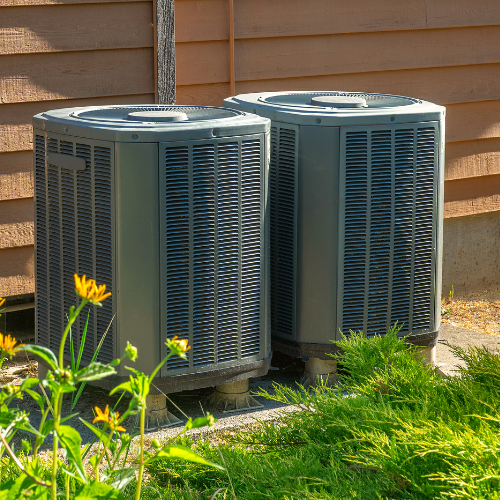 AC units on the side of a home
