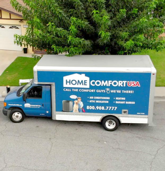 Home Comfort USA truck