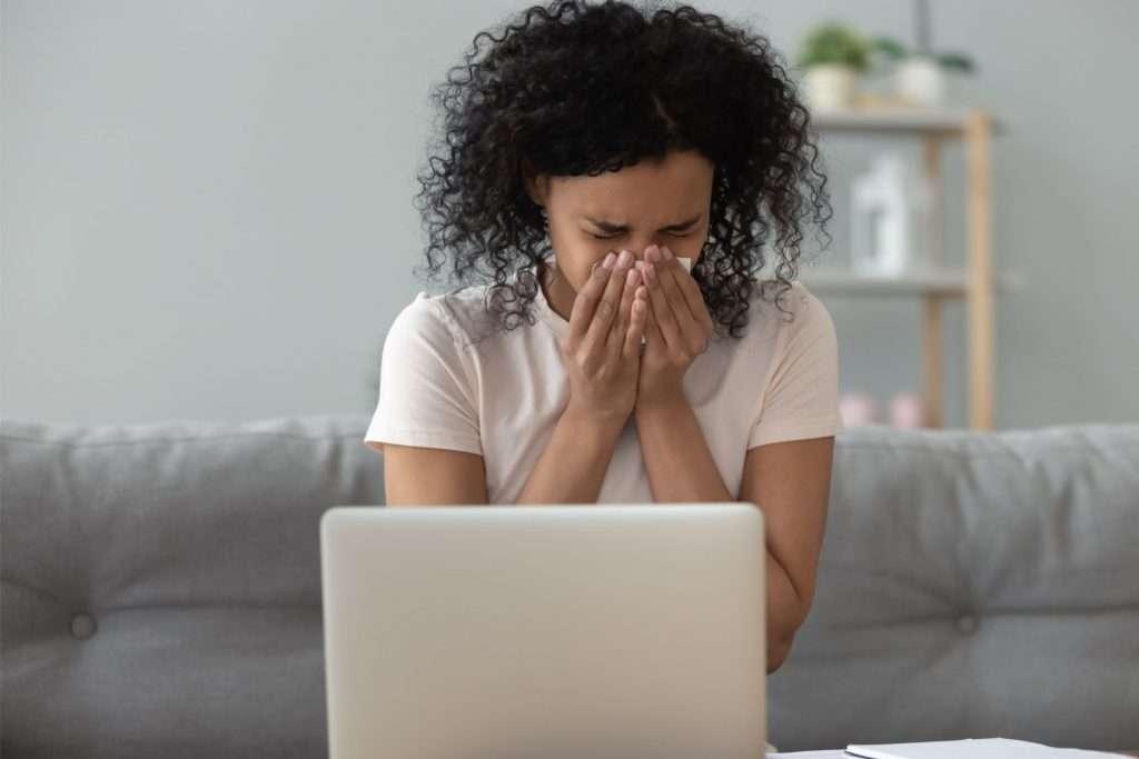 allergies due to poor HVAC